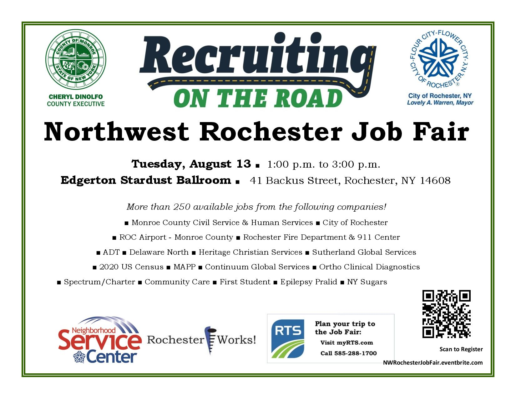 Recruiting on The Road-Job Fairs