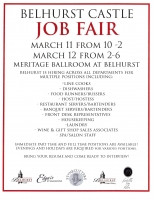 Belhurst Castle Job Fair