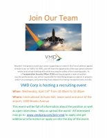 VMD Corp Recruiting Event