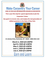 Carpentry Information Session